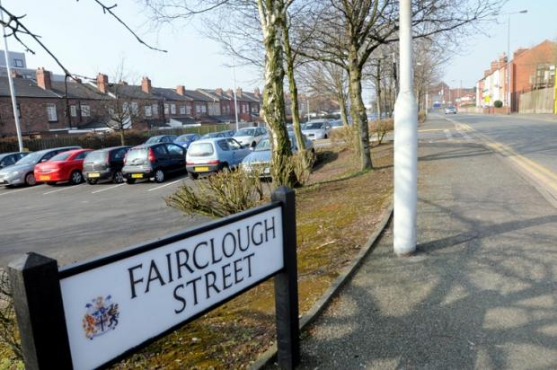 The attacker struck on Fairclough Street, Earlestown.