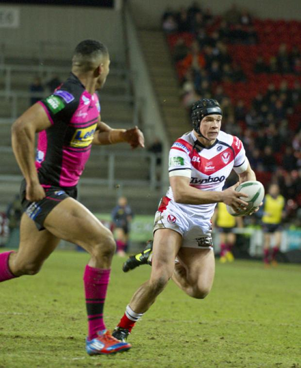 Will Jonny Lomax remain at full back for Saints?