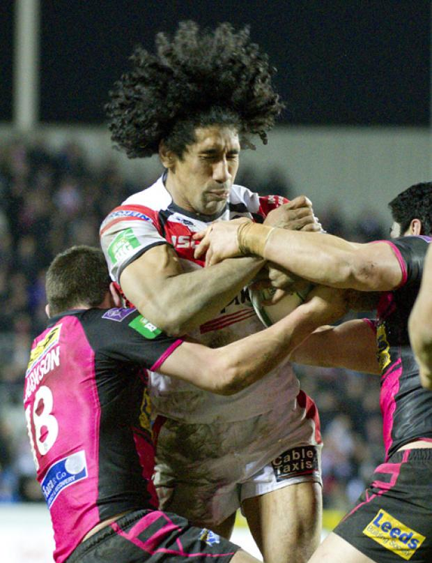 Sia Soliola will be a key man for Saints tonight.