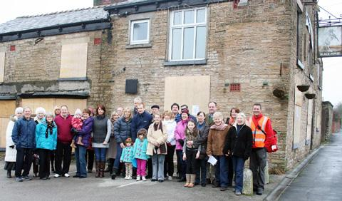 Campaigners have bats to thanks for a demolition reprieve at The Black Horse pub.