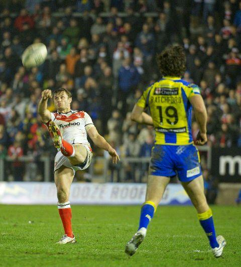 Jon Wilkin hoists a high ball