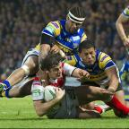 Paul Wellens in the tick of the action against Leeds.