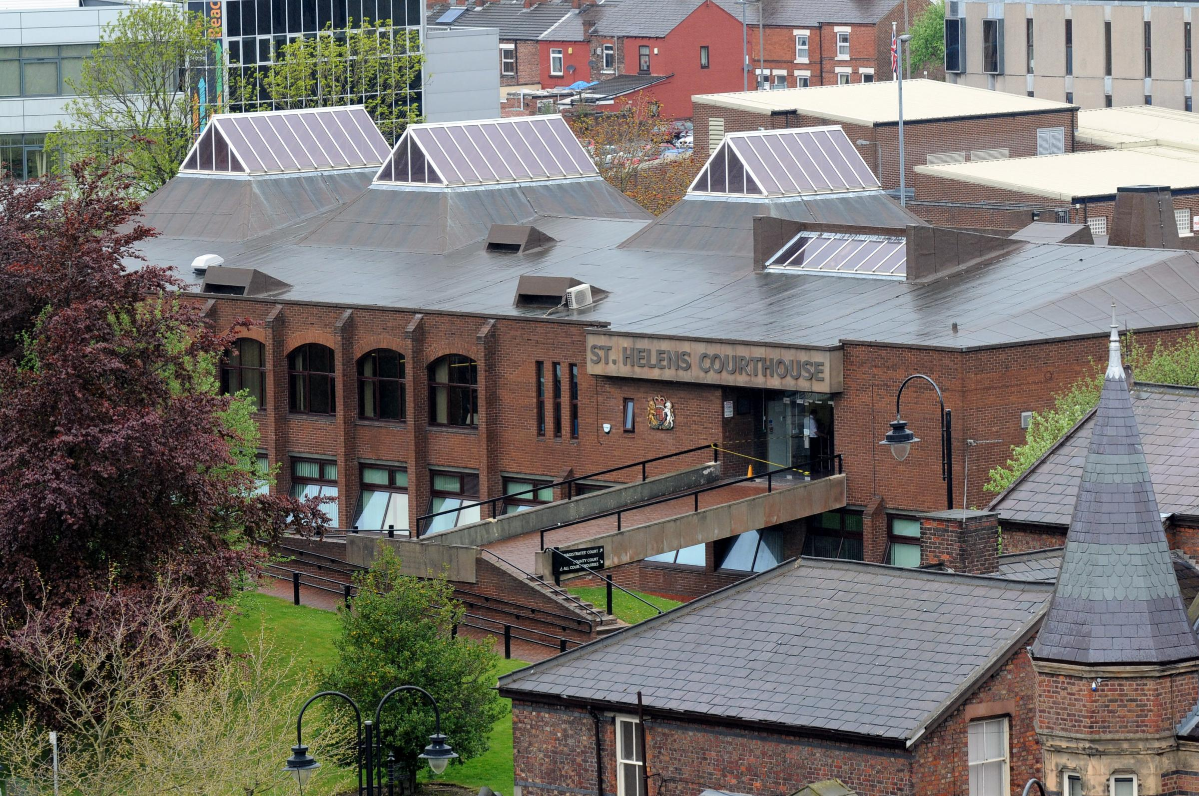 Fairhurst appeared at St Helens Magistrates' Court