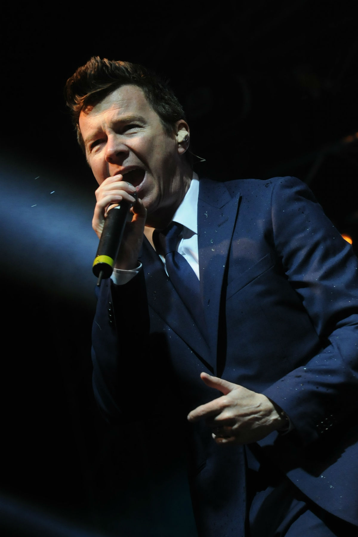 Rick Astley in action