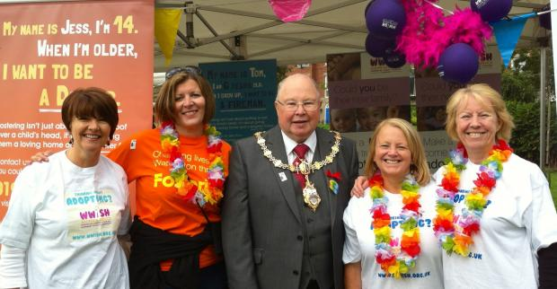 Sue Martlew from WWiSH, Jenny MacQuire, Warrington Cllr Peter Carey and Liz Sherriff and Ann Atherton.