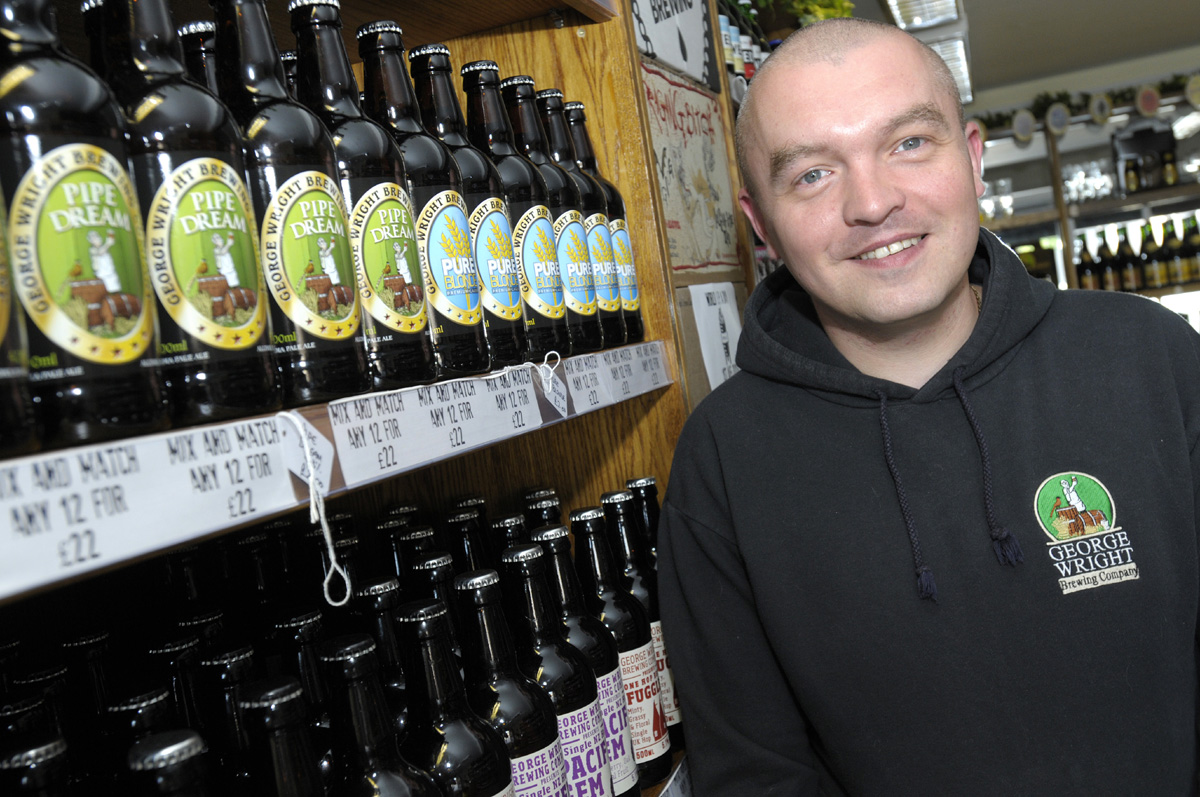 Hail the ale: George Wright brewery's St Helens Emporium of Beer does a roaring trade