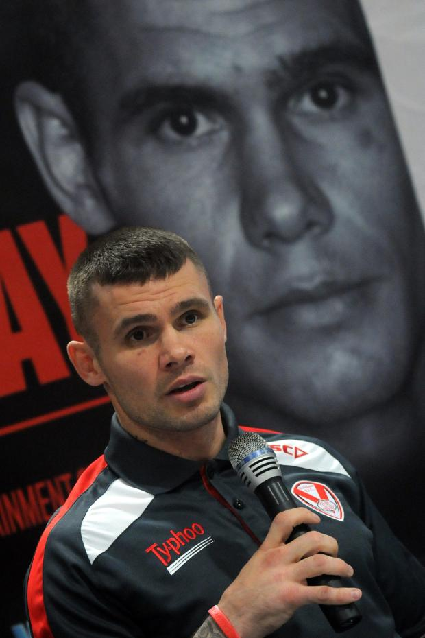 St Helens Star: Martin Murray