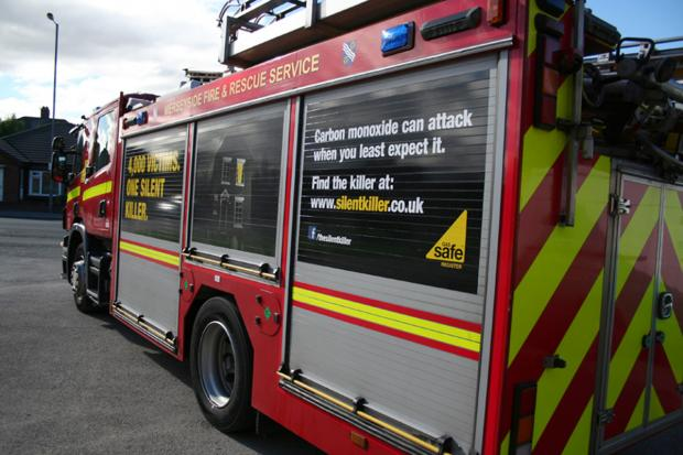 St Helens Star: Three fire engines were called to the Rainford blaz