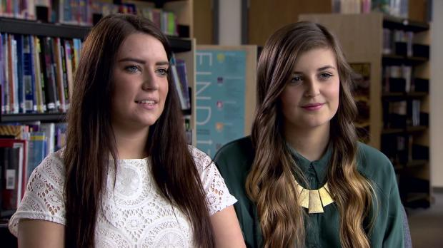 St Helens Star: Fixers Annie Jones (left) and Hannah Tabernacle
