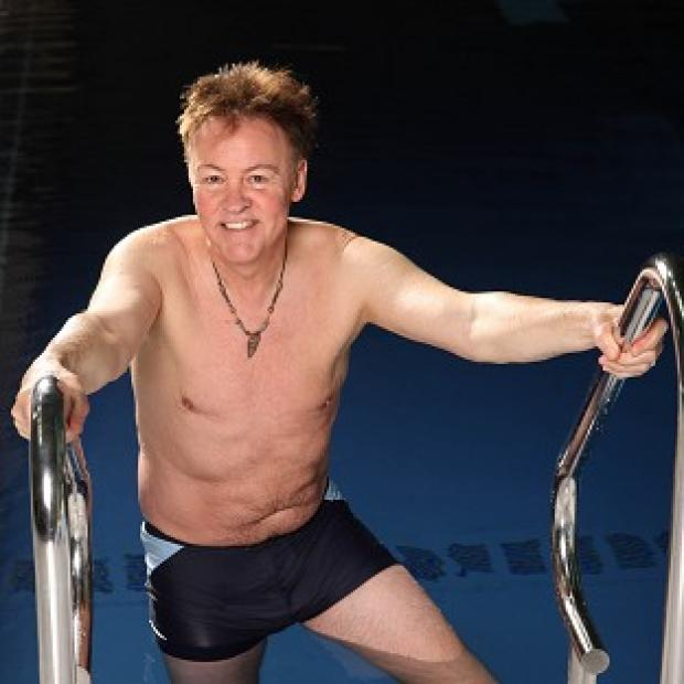 St Helens Star: Paul Young has admitted to feeling concious about his body prior to his appearance on Splash!