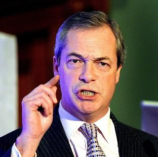 St Helens Star: Nigel Farage said the UK does not have the money to press ahead with HS2