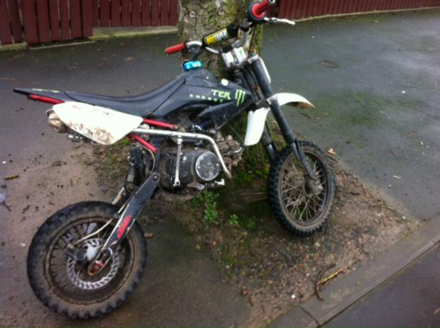 St Helens Star: This off-road bike was seized by police