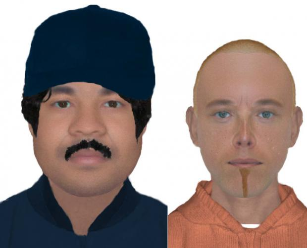 St Helens Star: Detectives looking to speak to these men in connection with the assault of a woman