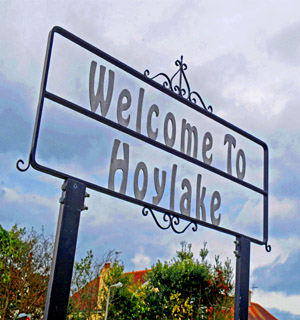 St Helens Star: Hoylake sign