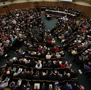 The General Synod failed to approve women bishops in November 2012 whe