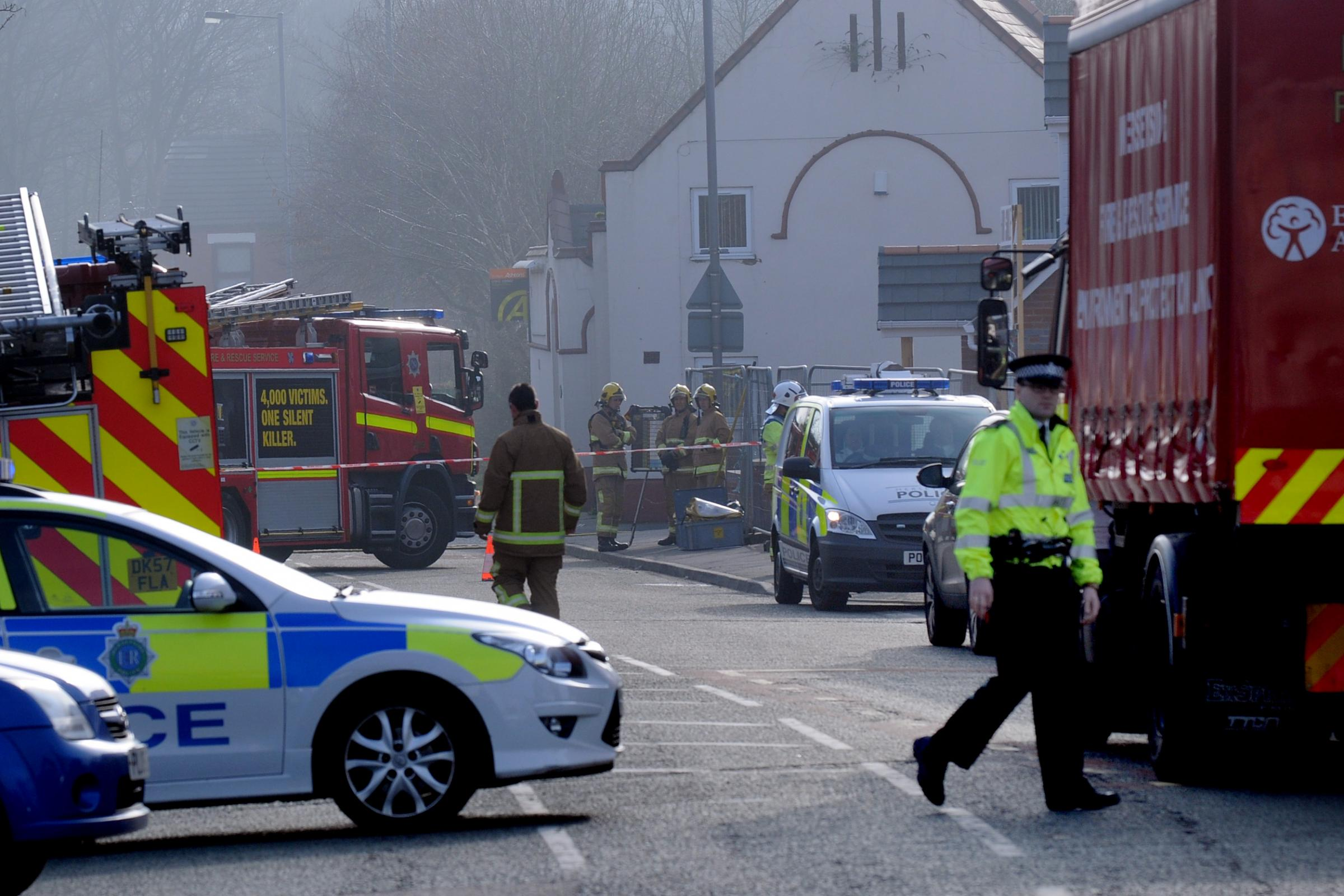 The Star's photographer Dave Gillespie captures the scene in Sutton