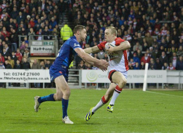 St Helens Star: Adam Swift