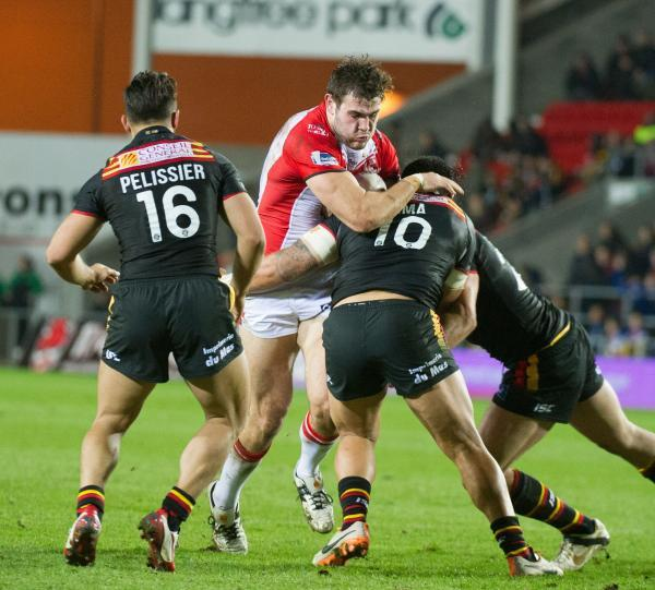 St Helens Star: Alex Walmsley - misses with injury