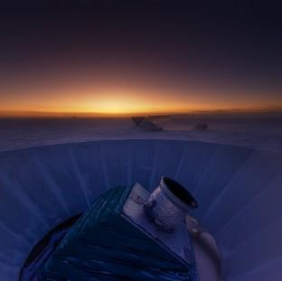 St Helens Star: The Bicep2 telescope, which scientists used to detect a faint echo of the Big Bang