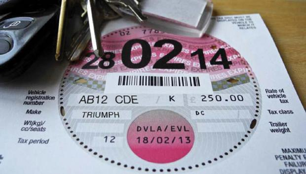 Tax discs to disappear in October