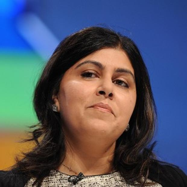 St Helens Star: Baroness Warsi defended party chairman Grant Shapps