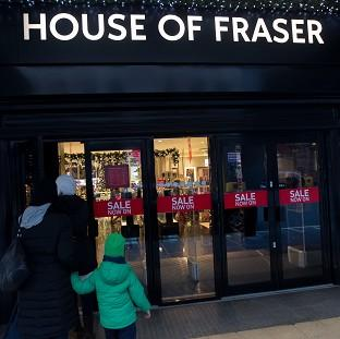 St Helens Star: The House of Fraser chain has reportedly been sold for �450m