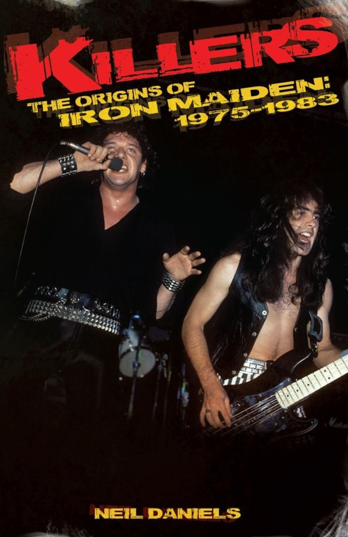 Neil Daniels' second book on Iron Maiden