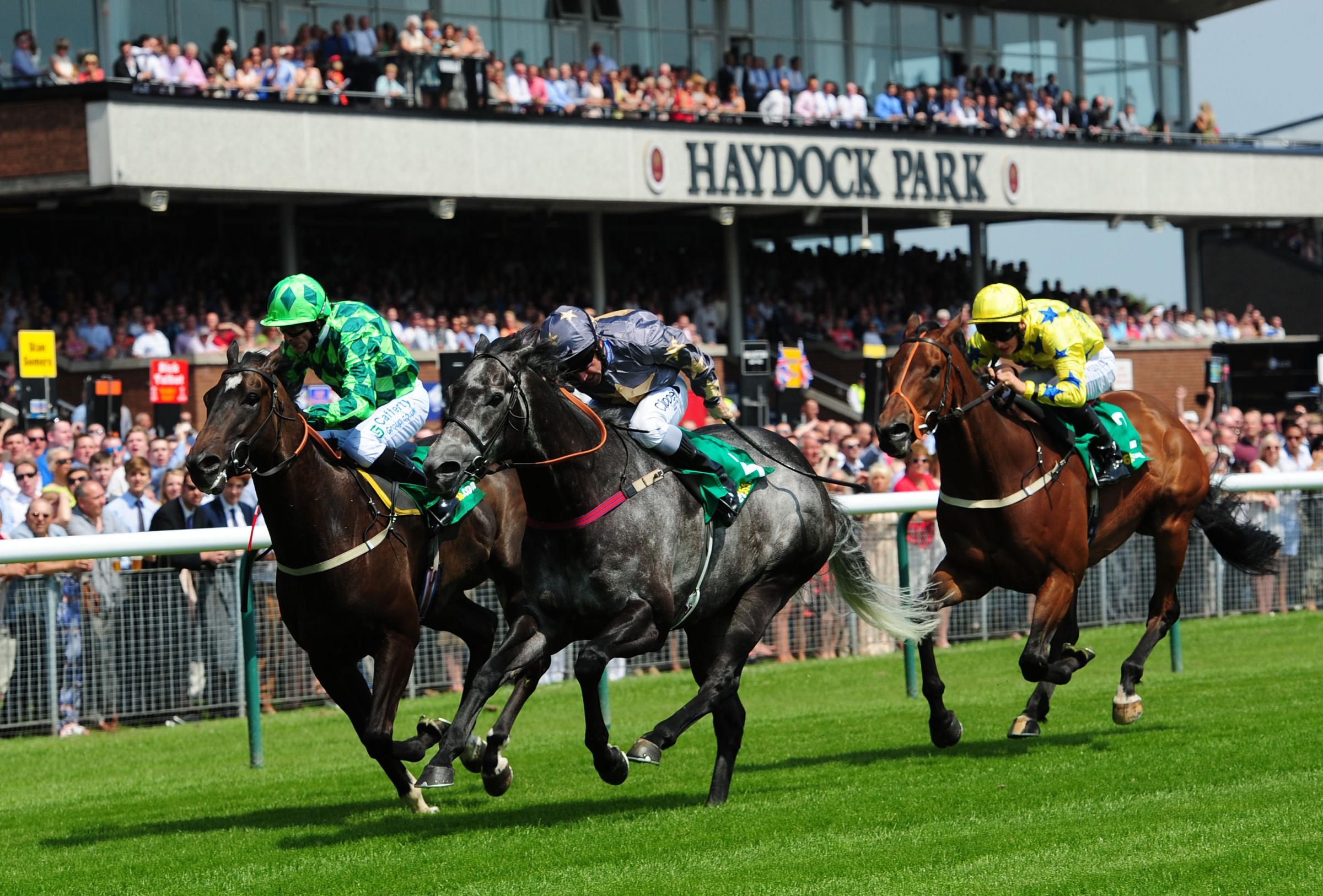 Haydock is a popular racing venue