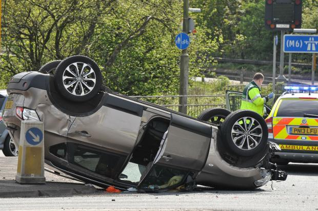 St Helens Star: The driver of this car walked away uninjured