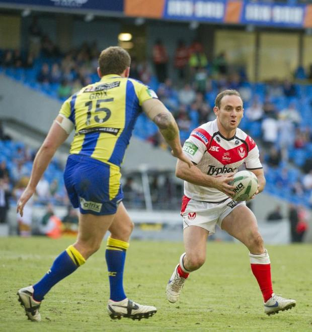 St Helens Star: Lance Hohaia in action at last year's Magic