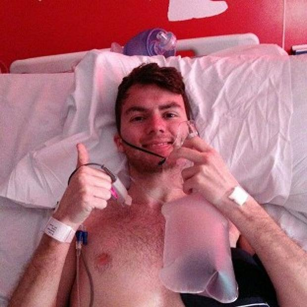 St Helens Star: Stephen Sutton, 19, says he feels some anger over his late diagnosis