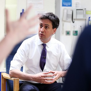Ed Miliband has pledged financial support for GPs' surgeries.