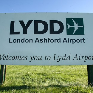 The �25m project at Lydd Airport includes a runway extension of almost 300m