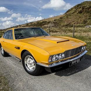 St Helens Star: The famed 1970 Aston Martin DBS which starred in the hit British television series The Persuaders! sold for �533,500