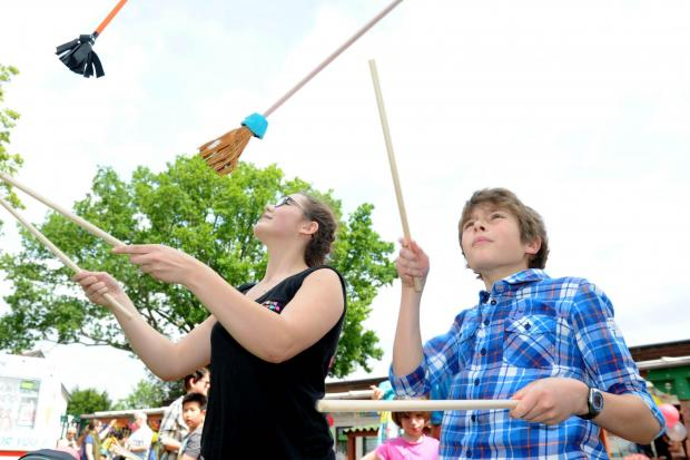 There will be a chance to learn some circus skills