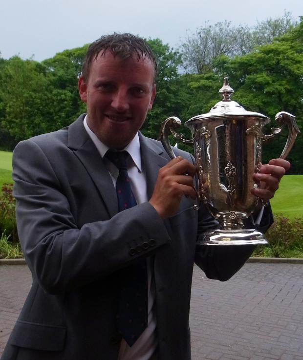 St Helens Star: Mark Young wins County Championship at Grange Park