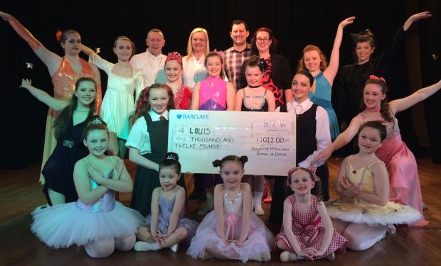 Dancers raise funds before hot–footing it to Disneyland