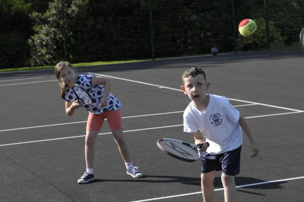St Helens Star: Matthew and Amelia try a hand at doubles
