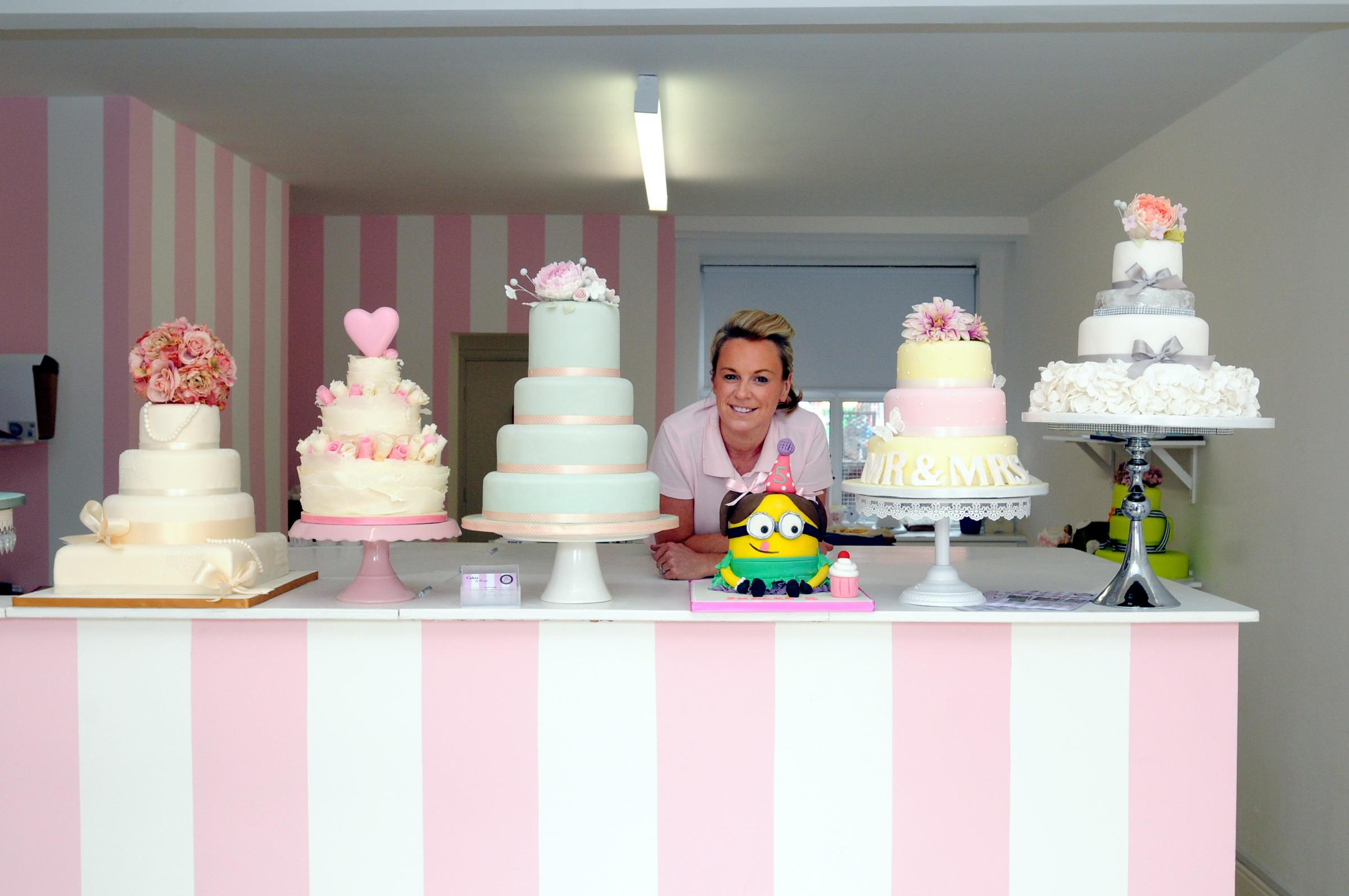 Kelly Diggles, of Cakes by Design, is among the independent traders backing the campaign
