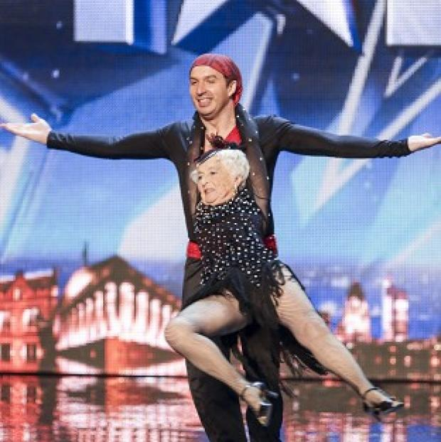 St Helens Star: Paddy has been given the all-clear to perform in Britain's Got Talent with her partner Nico