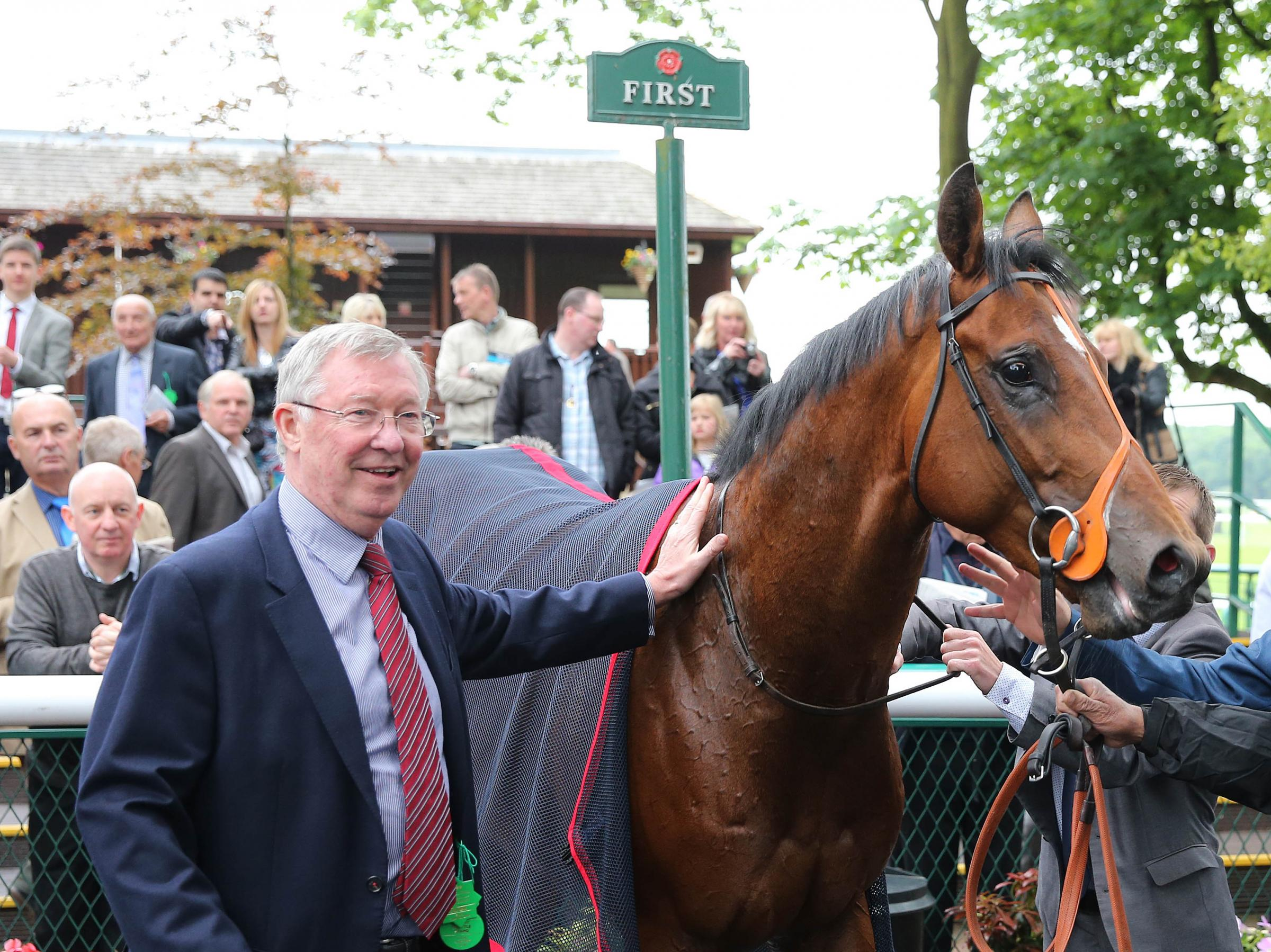 PICTURES: Sir Alex celebrates on night of style at Haydock Park