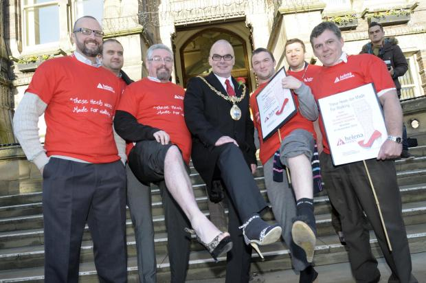 St Helens Star: PICTURES: Mayor Andy Bowden has enjoyed the very best of St Helens
