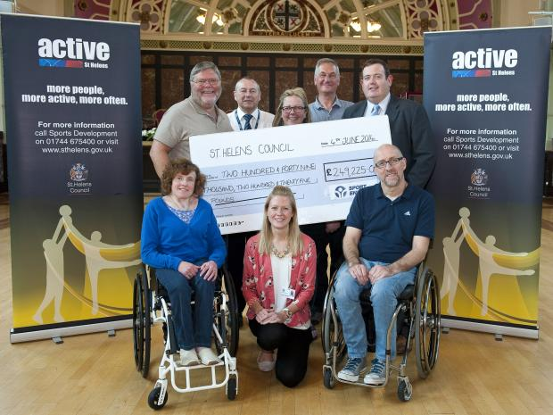 Community sport gets £250,000 lottery boost