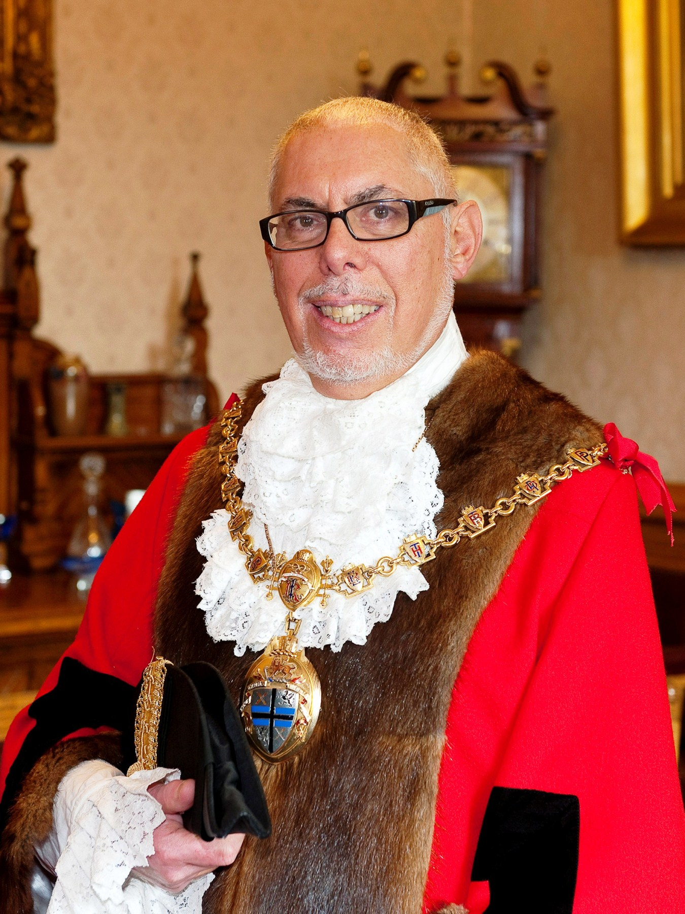 Councillor Geoff Pearl is the Mayor of St Helens
