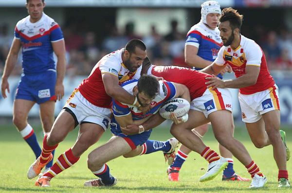 Catalans Dragons 42 St Helens 0