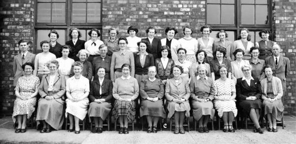 Cowley staff in 1951
