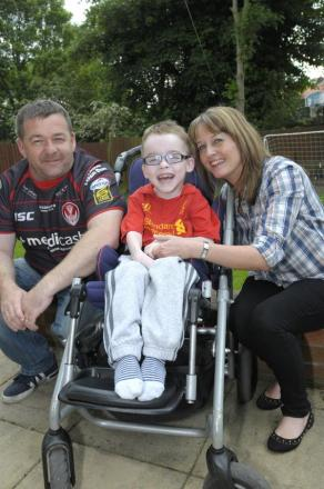 Family of brave Jack 'filled with hope'