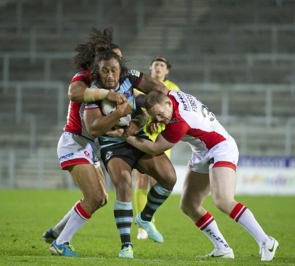 Atelea Vea in action for London