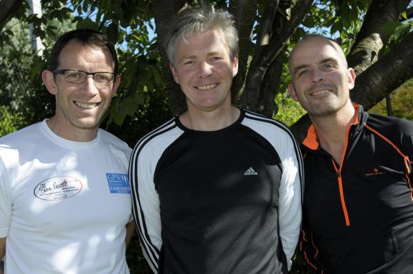 The three Ironman UK challengers from Pilkingtons                IPX20614