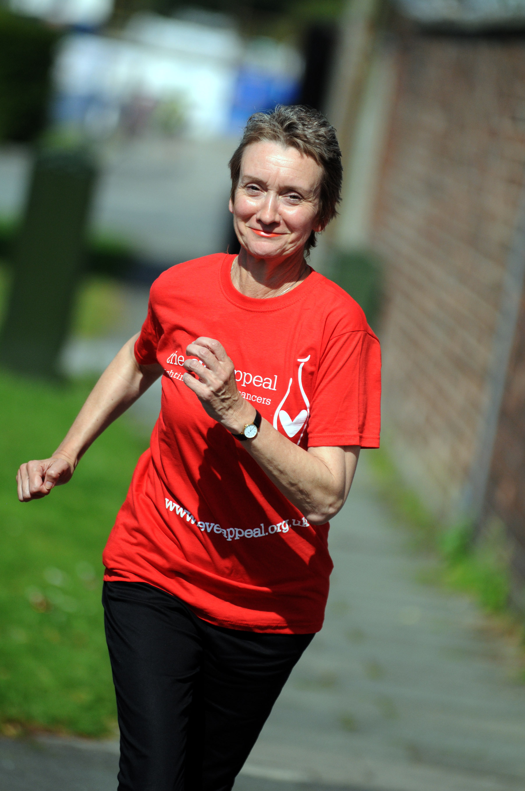 Ovarian cancer sufferer Judith has been helping raise money for the Eve Appeal